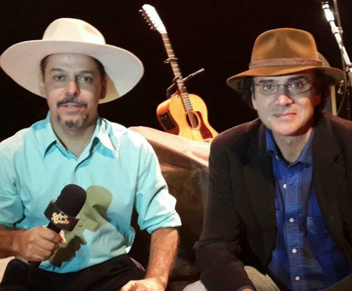 Neto Fagundes e Almir Sater (Foto: Arquivo Pessoal)