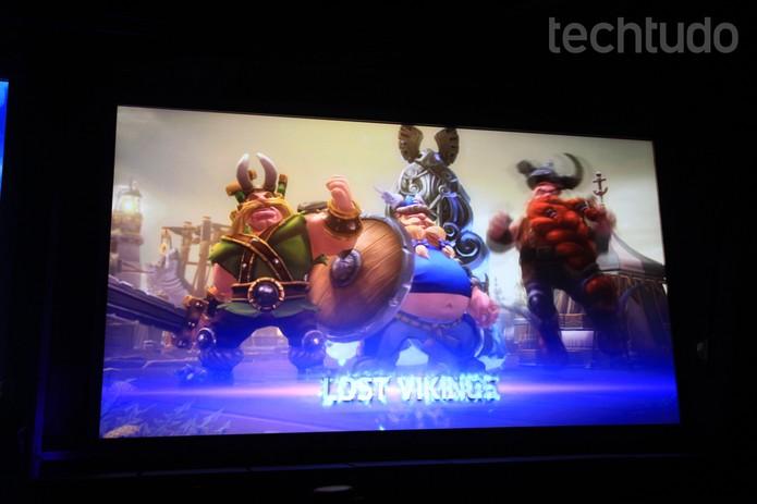 Lost Vikings, personagens clássicos da Blizzard, estão no game (Foto: Anna Kellen Bull/TechTudo)