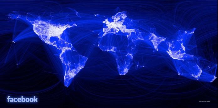 Facebook, em 10 segundos agita usuários do mundo todo; veja dos números (Foto: Reprodução/Facebook)