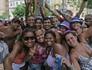 FOTOS: Blocos fazem festa em domingo de pré-carnaval no Rio (Luiz Ackermann/G1)