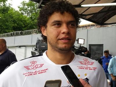 Victor Ferraz, Santos (Foto: Bruno Giufrida)