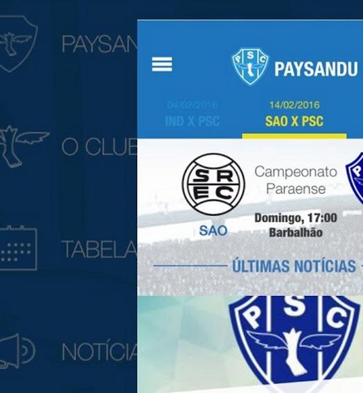 sucesso (Reprodução Paysandu)