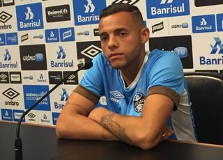 Guilherme Grêmio (Foto: Eduardo Moura/GloboEsporte.com)