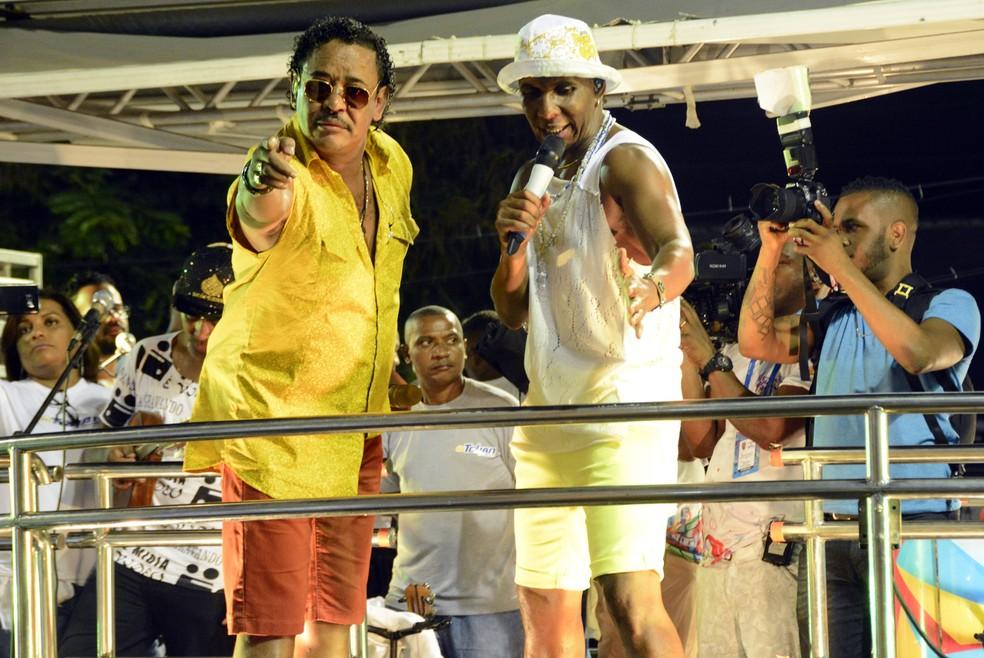 Compadre Washignton e Beto Jamaica (Foto: André Carvalho/Ag Haack)