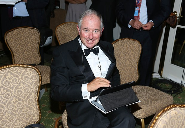 Stephen Schwarzman, CEO da Blackstone (Foto: Rob Kim/Getty Images)