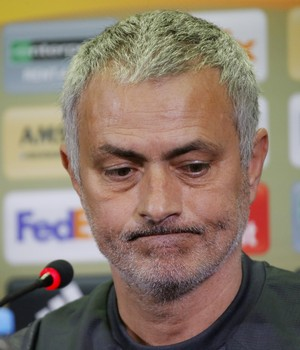 José Mourinho coletiva Manchester United (Foto: Reuters)