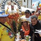 Bacalhau do Batata faz homenagem a Rossi (Katherine Coutinho / G1)
