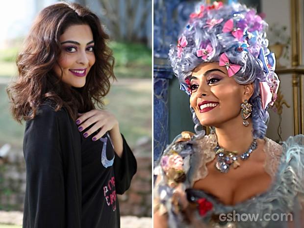 A bela Juliana Paes brilhou como a exuberante Maria Catarina! (Foto: Meu Pedacinho de Chão / TV Globo)
