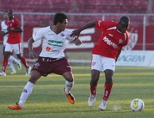Lance do jogo Noroeste 0 x 0 Ferroviária - Copa Paulista (Foto: Juliana Lobato/Agência Bom Dia)