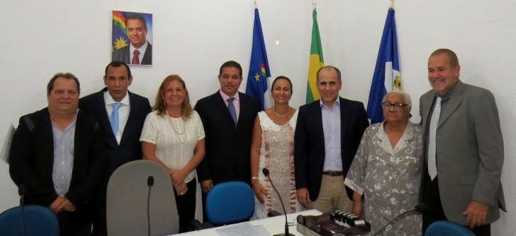 Conselheiros Distriais com Luis Eduardo Antunes