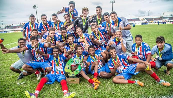 Itabaiana foi campeão do sergipano de juniores (Foto: Filippe Araújo/FSF)
