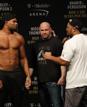Alistair Overeem; Mark Hunt; UFC 209 (Foto: Evelyn Rodrigues)