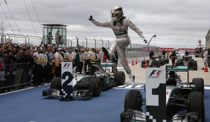 Lewis Hamilton campeão fórmula 1 GP dos EUA (Foto: Adrees Latif/Reuters)