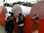 Polícia apreende mais de 15 mil litros de combustível na ilha do Marajó, PA