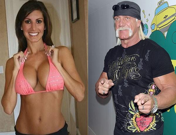 Heather Clem e Hulk Hogan (Foto: Reprodução e Getty Images)
