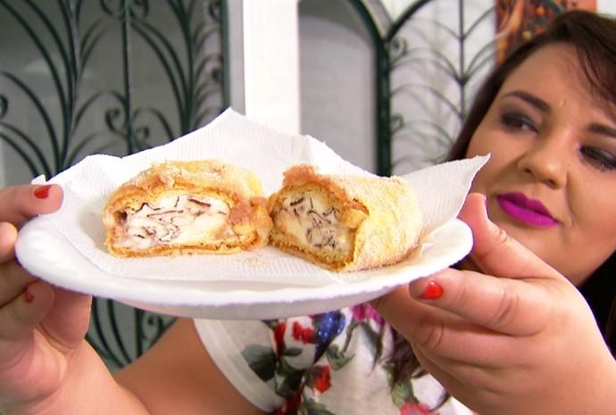 Parece até mesmo um lanche, não é mesmo? (Foto: De Ponta a Ponta / TV TEM)