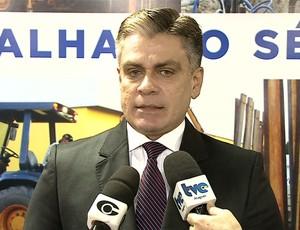 Antonio Carlos Gouveia, presidente do Conseg de Alagoas (Foto: Reprodução/TV Gazeta)