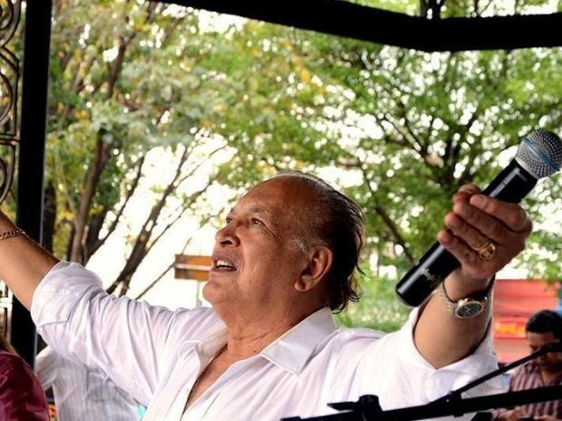 Músico sul-mato-grossense Ciríaco Benites (Foto: Ernesto Franco/Instituto Chamamé MS)
