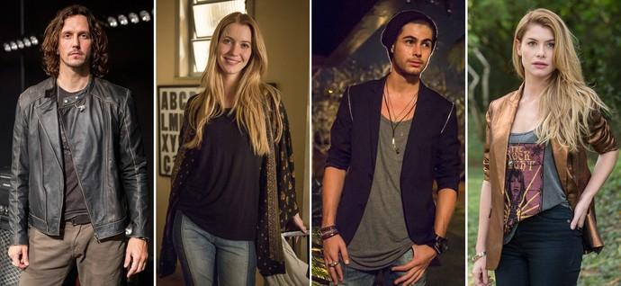 Looks de 'Rock Story': o estilo dos personagens da nova novela das 7 (Foto: Felipe Monteiro/Gshow)