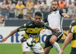 Corinthians x Novorizontino, Paulistão, Michel, Danilo (Foto: William Lima / Novorizontino)
