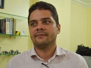 Delegado Hildemar Rios, do Cope em Sergipe (Foto: Marina Fontenele/G1)