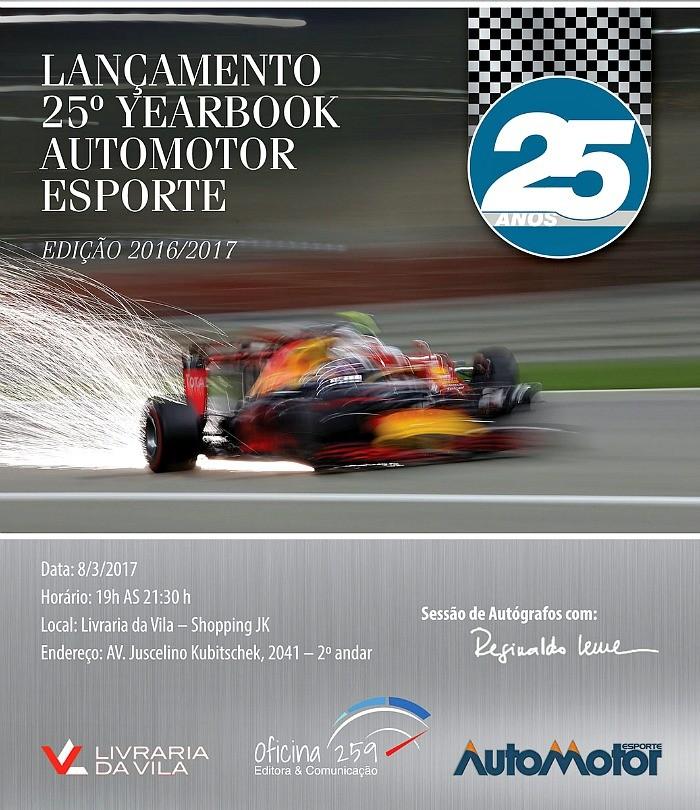 Lançamento anuário AutoMotor 25 anos