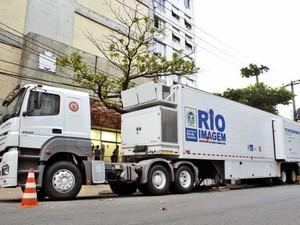 Tomógrafo Móvel chega em Iguaba Grande, RJ (Foto: Divulgação)