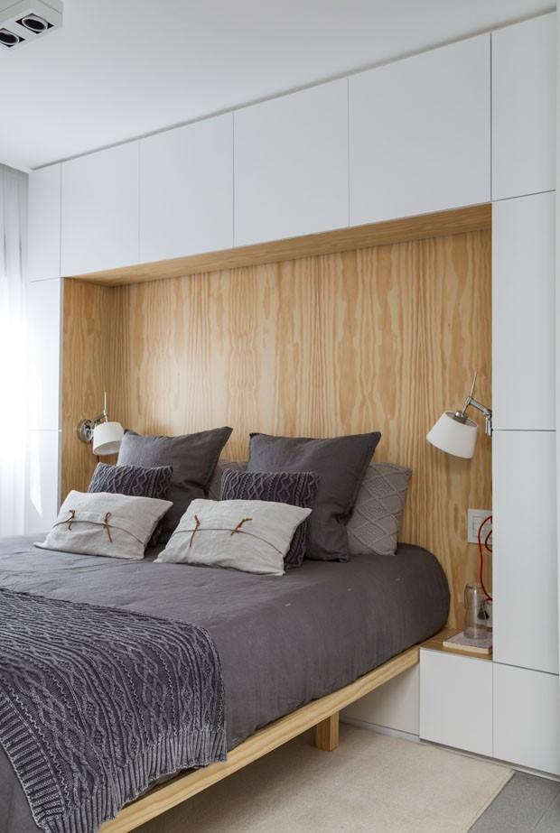 Estilo escandinavo inspira d cor de apartamento pequeno em for Closets para apartamentos pequenos