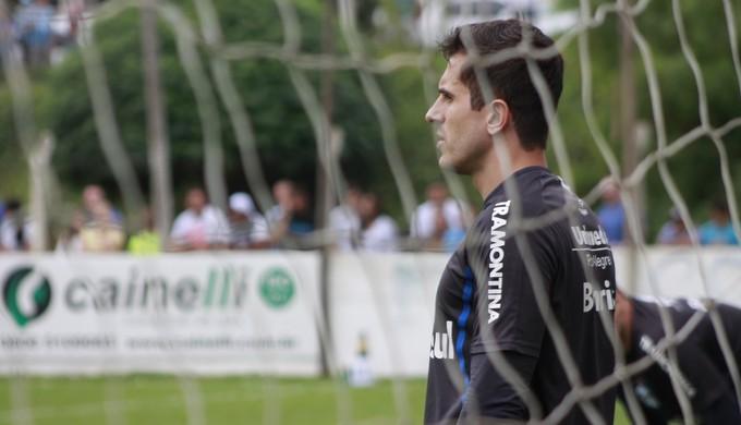 Marcelo Grohe, goleiro do Grêmio (Foto: Diego Guichard)