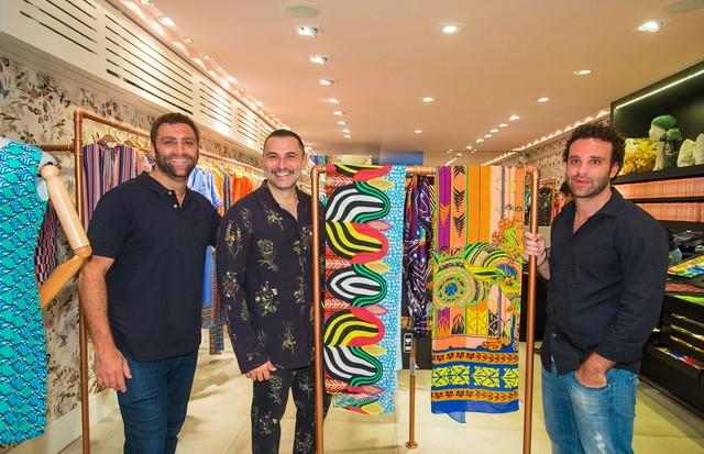 Rodrigo Rosset, André Lima e Daniel Rosset (Foto: Arthur Vahia)