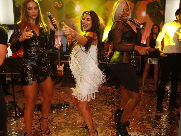Ivete Sangalo, Ludmilla e Munik na final do 'Big Brother Brasil 16' (Foto: Marcos Serra Lima/ EGO)