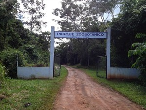Parque Zoobotânico possui 144 hectares de floresta dentro da capital (Foto: Yuri Marcel/G1)