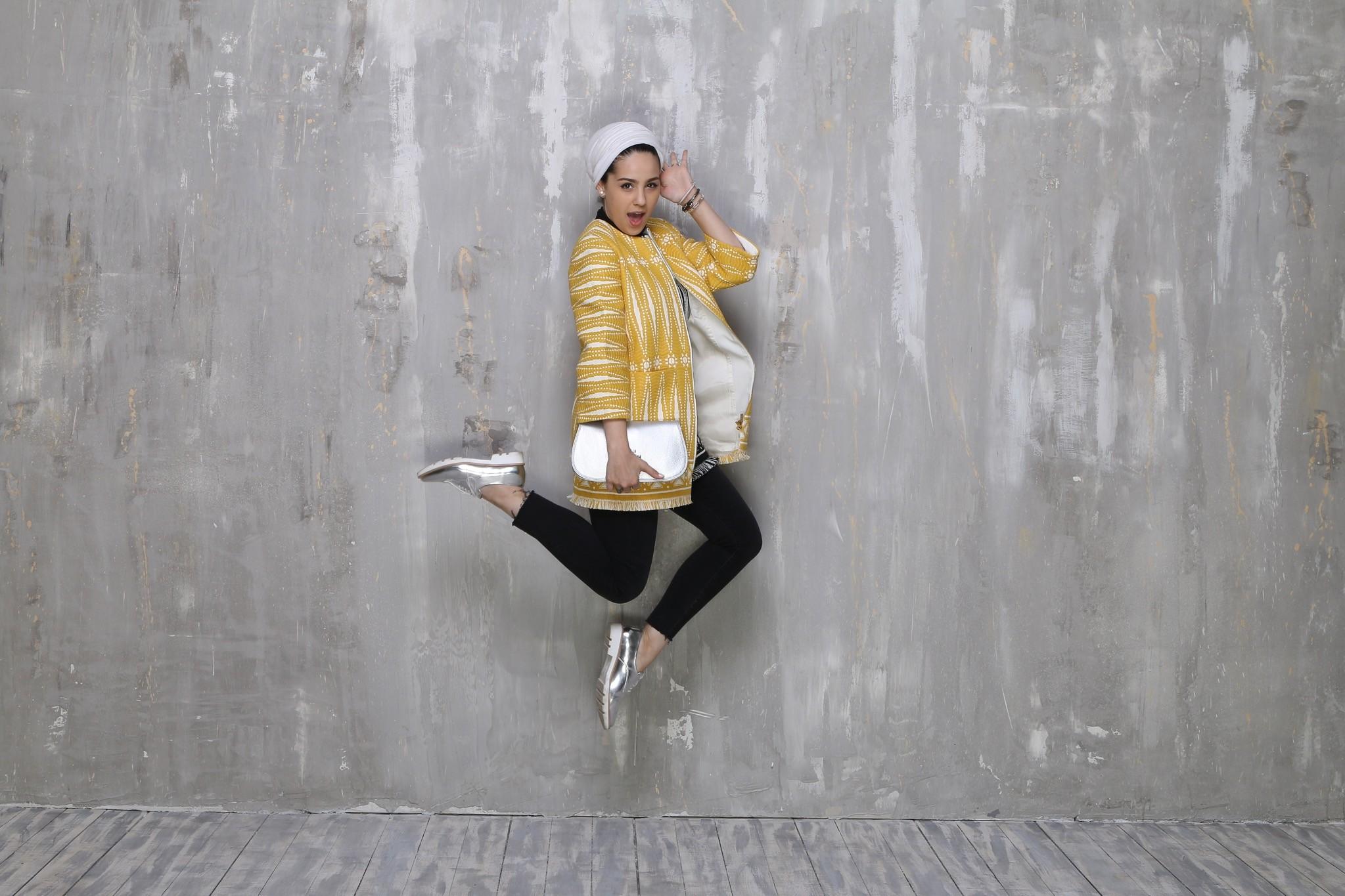 """Ascia Al-Faraj, do blog """"The Hybrids"""", é pura inspiração (Foto: Reprodução blog """"The Hybrids"""")"""