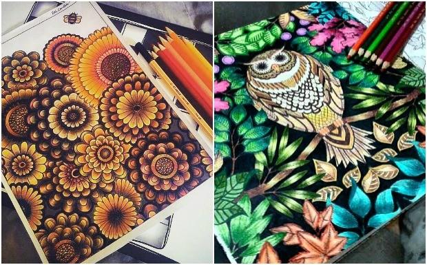 Especialistas desvendam o segredo por trs do sucesso dos livros de colorir para adultos e outras tcnicas modernas de relaxamento (Foto: Reproduo / Instagram )