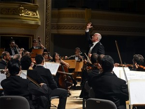 Orquestra Sinfônica de Ribeirão Preto reabre temporada de concertos (Foto: Eduardo Guidini / G1)