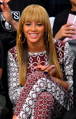 Beyoncé e seu novo cabelo (Foto: Getty Images)