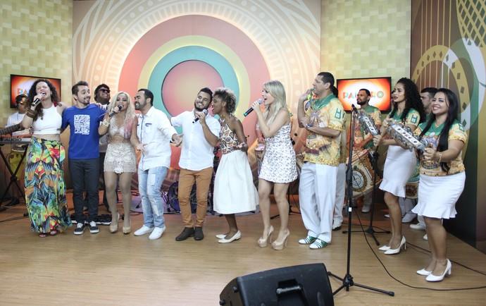 Último 'Paneiro' de 2016 termina ao som de samba (Foto: Katiúscia Monteiro/ Rede Amazônica)