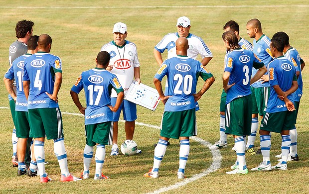 Gilson Kleina, Palmeiras (Foto: Gustavo Tilio)