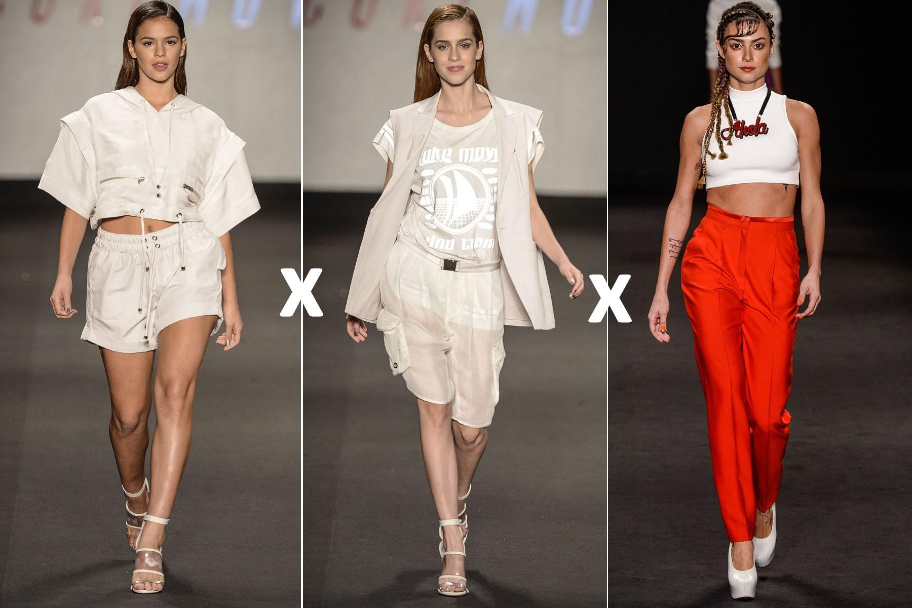 Batalha da famosas: Bruna Marquezine, Sophia Abrahão ou Thaila Ayala, quem se saiu melhor na passarela do Fashion Rio?