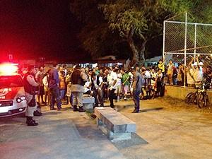 Homem é assassinado a tiros em João Pessoa  (Foto: Walter Paparazzo/G1)