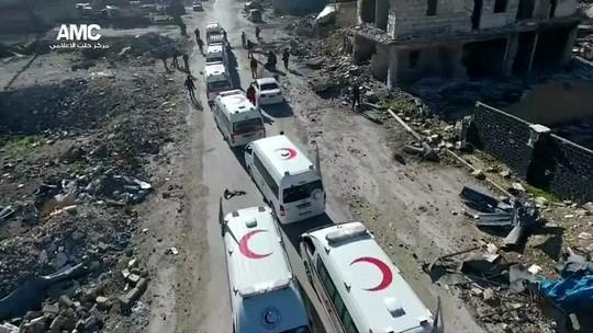 Retirada de civis e rebeldes é suspensa em Aleppo