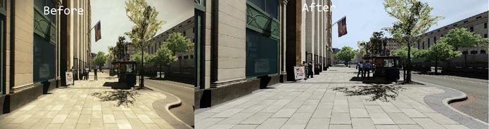 Diferença entre antes e depois da aplicação do mod (Foto: Reprodução/Steam) (Foto: Diferença entre antes e depois da aplicação do mod (Foto: Reprodução/Steam))
