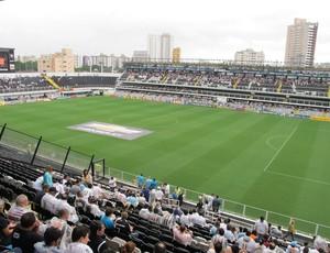 Vila Belmiro Santos Campeonato Paulista (Foto: Marcelo Hazan/Globoesporte.com)