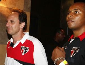 Rogério Ceni São Paulo festa Sul-Americana (Foto: Marcos Ribolli / Globoesporte.com)