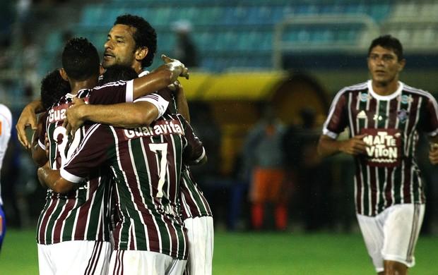 Fred gol Fluminense x Friburguense (Foto: Nelson Perez / Flickr do Fluminense)