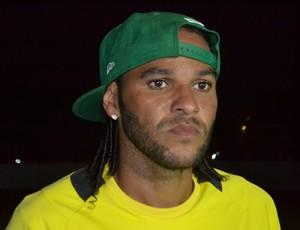 Dênis Marques, atacante do ABC (Foto: Jocaff Souza)