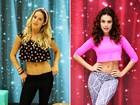 Giovanna Ewbank e Paloma Bernardi dão dicas para ter a barriga sequinha