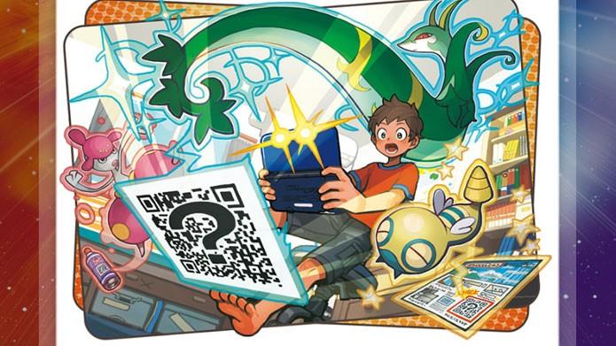 Como usar QR Code para encontrar pokémon em Pokémon Sun e Moon (Foto: Divulgação/Nintendo)