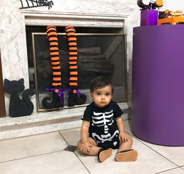 Artur, filho caçula de Kelly key e Mico Freitas (Foto: Reprodução/Instagram)