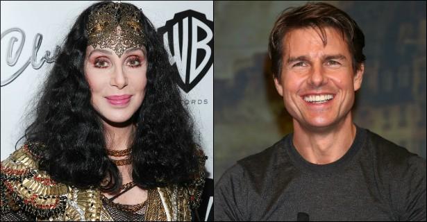 """Recentemente, Cher revelou que """"ficou"""" com Tom Cruise na década de 80. A deusa do pop, que está com 68 primaveras, é 16 anos mais velha do que o ator. (Foto: Getty Images)"""